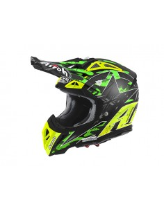 Casco AIROH 2016 Aviator 2.2 Phillips replica green matt