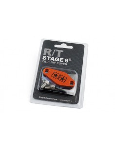 Piastrina STAGE6 arancio x copertura foro miscelatore Minarelli AM6 - Derbi euro 2