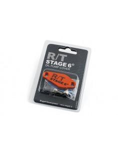 Piastrina STAGE6 R/T arancio x copertura foro miscelatore Minarelli AM6 - Derbi euro 2