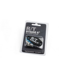Piastrina STAGE6 R/T nera x copertura foro miscelatore Minarelli AM6 - Derbi euro 2