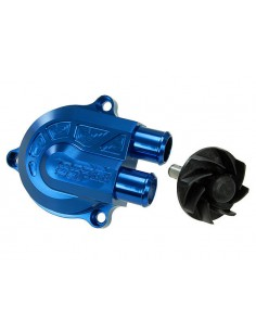 Pompa acqua STAGE6 CNC Racing Type blu x Minarelli