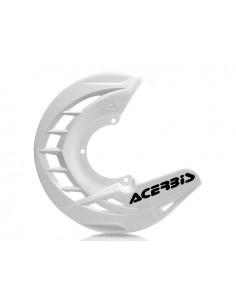 Protezione disco anteriore bianca