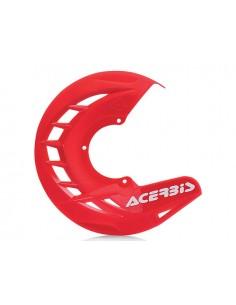 Protezione disco anteriore rosso