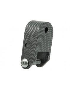 Rialzo STR8 XL carbon look x Piaggio-Gilera ( 65mm )