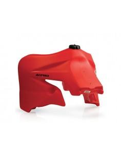 Serbatoio ACERBIS maggiorato 15,5 o 25 lt rosso/clear Honda CRF 450 X