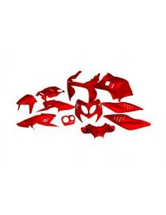Set carene da 11 pezzi STR8 rosse x Yamaha Aerox