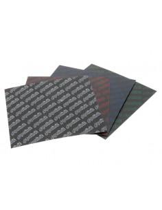 Set di 2 lastre in fibra di carbonio POLINI x lamelle 110x110 sp.0,35