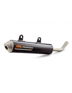 silenziatore akrapovic sxs per ktm 125 sx 04 15 125 exc 05 15. Black Bedroom Furniture Sets. Home Design Ideas