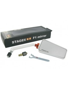 Specchietto STAGE6 F1 dx bianco
