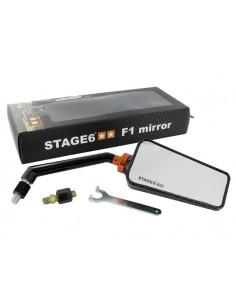Specchietto STAGE6 F1 dx effetto carbonio lucido