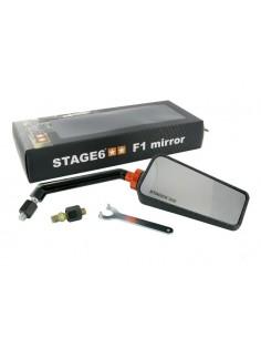 Specchietto STAGE6 F1 dx effetto carbonio opaco
