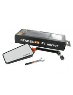Specchietto STAGE6 F1 sx effetto carbonio lucido