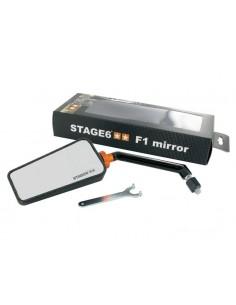 Specchietto STAGE6 F1 sx effetto carbonio opaco