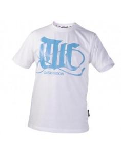 T-Shirt TUNINGCREW Flourish ciano-bianca, Taglia L