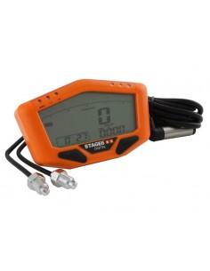 Tachimetro multifunzione digitale STAGE6 arancio