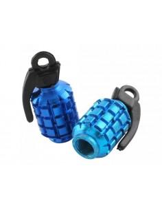 Tappi valvola ruota STR8 Granata blu