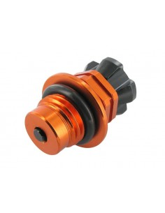 Tappo olio motore MOTOFORCE x motori GY6 con sfiato regolabile