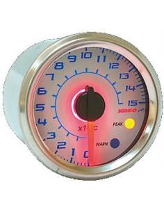 Termometro KOSO GP Style (150° C) Ø 48mm sfondo bianco