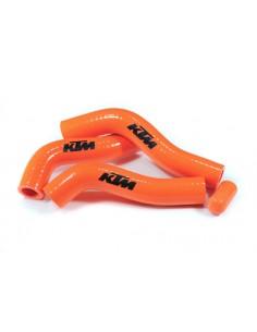Tubazioni siliconiche arancio per Ktm exc-f 250 08/10 e sx-f 07/10