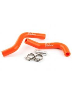 Tubazioni siliconiche arancio STAGE6 R/T x Minarelli scooter LC