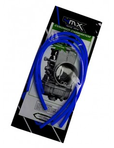 Tubi sfiato carburatore 4MX blu x 2 tempi
