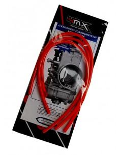 Tubi sfiato carburatore 4MX rossi x 4 tempi