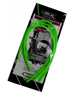 Tubi sfiato carburatore 4MX verdi x 2 tempi