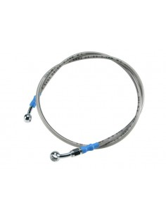 Tubo freno in treccia metallica MOTOFORCE lungo 110cm