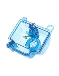 Vaschetta STR8 blu trasparente x carburatore PWK