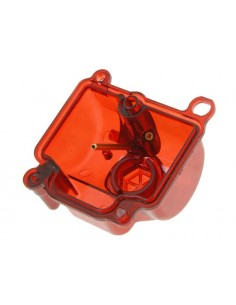 Vaschetta STR8 rossa trasparente x carburatore PWK