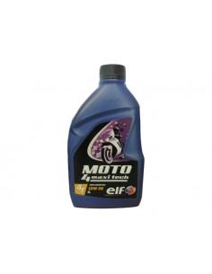 1 lt olio motore ELF moto 4 maxi tech sae 10w-30