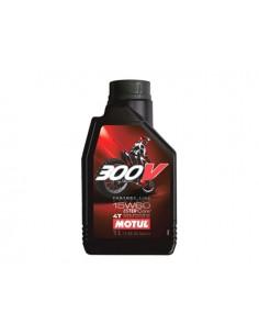 1 lt olio motore MOTUL sintetico 300V Off-road 4T 15w60