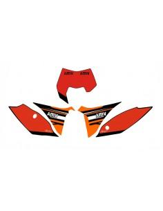 Adesivi tabelle factory fluo 2012 KTM exc 2012/2013 sx 2011/2012 rosse