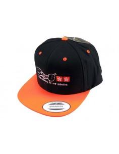 Cappellino STAGE6 nero/arancio