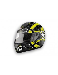 Casco AIROH 2015 Aster X skull yellow fluo