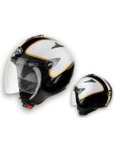 Casco AIROH 2015 JT road black/white gloss tg XS