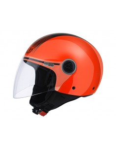 Casco AIROH 2016 Malibu Touch color orange gloss