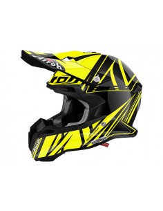 Casco AIROH 2016 Terminator 2.1 Cut Color Yellow Gloss