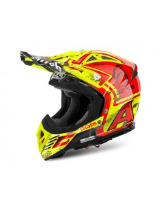 Casco AIROH 2017 Aviator 2.2 Six Days limited edition Spain