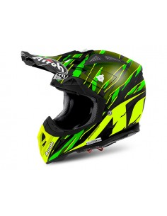 Casco AIROH 2017 Aviator 2.2 Threat green matt