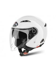 Casco AIROH 2017 city one color white gloss
