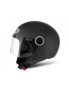 Casco AIROH 2017 compact black matt