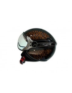 Casco ASTONE KSR graphic leopardo tg L