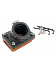 Collettore con rialzo arancio STAGE6 specifico x Piaggio Zip SP