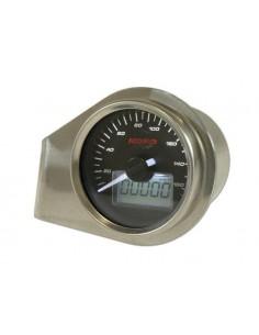 Conta km KOSO GP Style (160 Km/h) Ø 55mm retroilluminato bianco