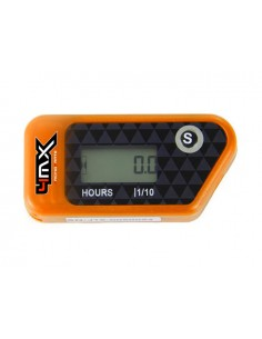 Conta ore 4MX Arancio wireless