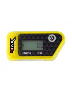 Conta ore 4MX Giallo wireless