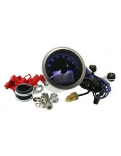 Contagiri KOSO ECLIPSE Style (9.000 rpm) Ø 55mm con vetro oscurato