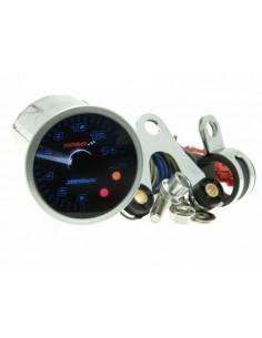 Contagiri KOSO GP Style II (15.000 rpm) Ø 48mm con vetro oscurato