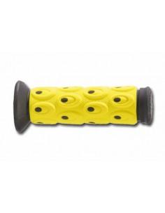 Coppia manopole CIRCUIT soft bicomponente nero/giallo
